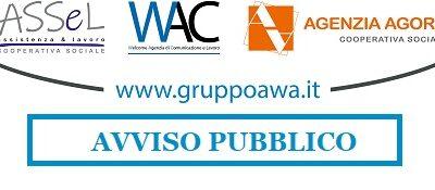 AVVISO PUBBLICO MANIFESTAZIONE INTERESSE PER LA COSTITUZIONE DI UNA SHORT LIST FINALIZZATA ALLA COPERTURA DI POSIZIONI LAVORATIVE IN QUALITA' DI ASSISTENTE SOCIALE, EDUCATORE PROFESSIONALE, PROGETTISTA SOCIALE.