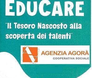 """EDUCARE – Il Tesoro Nascosto alla scoperta dei talenti""""."""